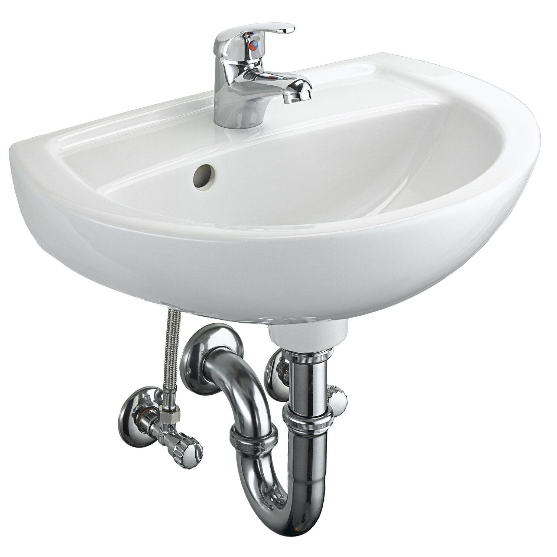 Waschbecken zeichnung  OBI Waschbecken Komplett-Set Puerto kaufen bei OBI