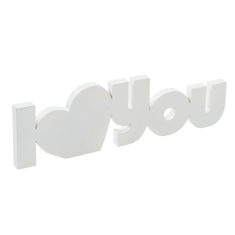 best of home Best of home Deko-Schriftzug I Love You