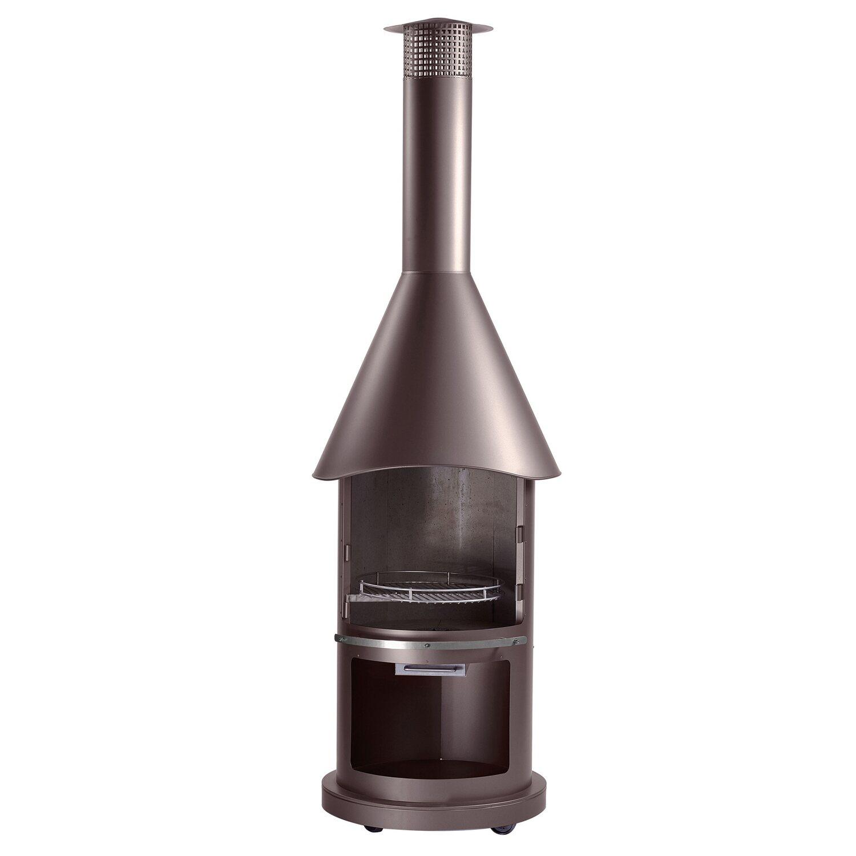 buschbeck edelstahlgrill auckland braun metallic kaufen bei obi. Black Bedroom Furniture Sets. Home Design Ideas