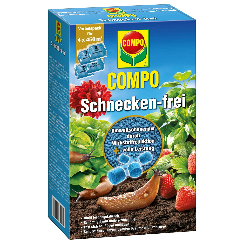 Compo Schnecken-frei 4 x 225 g Vorteilspack