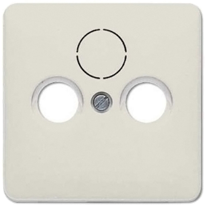 Jung Antennenabdeckung 3-Loch CD500 Weiß