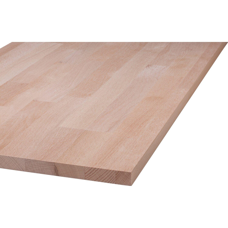 Massivholzplatte Buche 80 Cm X 20 Cm X 1 8 Cm Kaufen Bei Obi