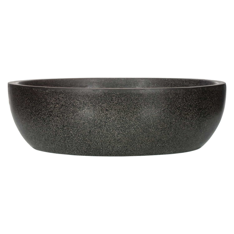 capi lux pflanz schale i rund 36 cm schwarz kaufen bei obi. Black Bedroom Furniture Sets. Home Design Ideas
