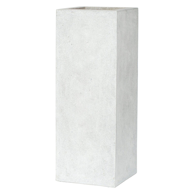 Capi lux pflanztopf i rechteckig 67 cm grau kaufen bei obi for Planschbecken rechteckig obi