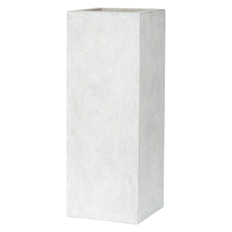 capi lux pflanztopf ii rechteckig 78 cm grau kaufen bei obi. Black Bedroom Furniture Sets. Home Design Ideas