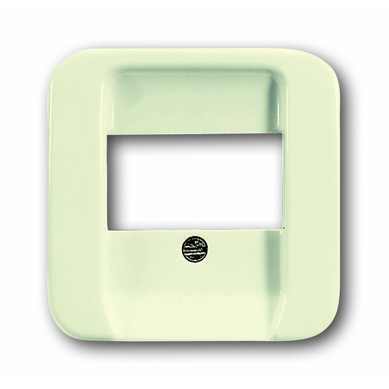 BuschJäger Busch-Jaeger Abdeckung für Telefondose Duro 2000 SI Weiß