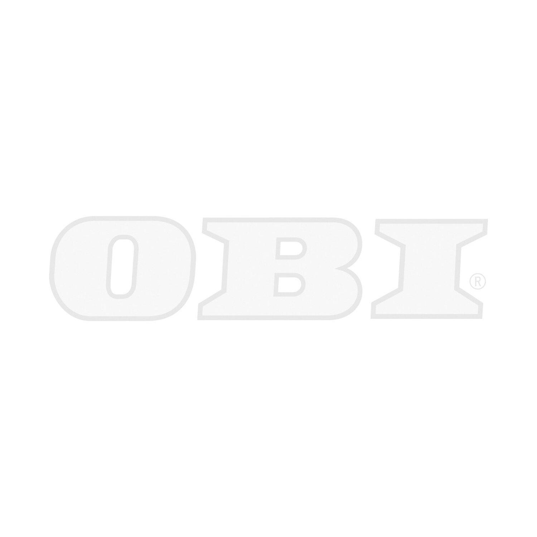 Respekta Küchenzeile GLRP270HESG Grifflos 270 cm Grau Hochglanz-Sonoma Eiche