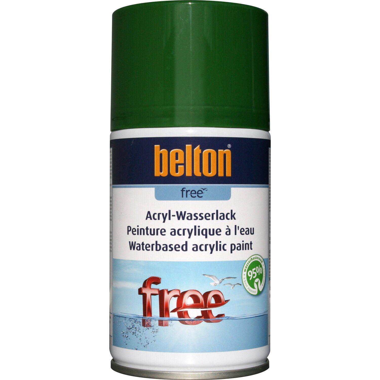 belton Belton Free Acryl-Wasserlack Laubgrün hochglänzend 250 ml