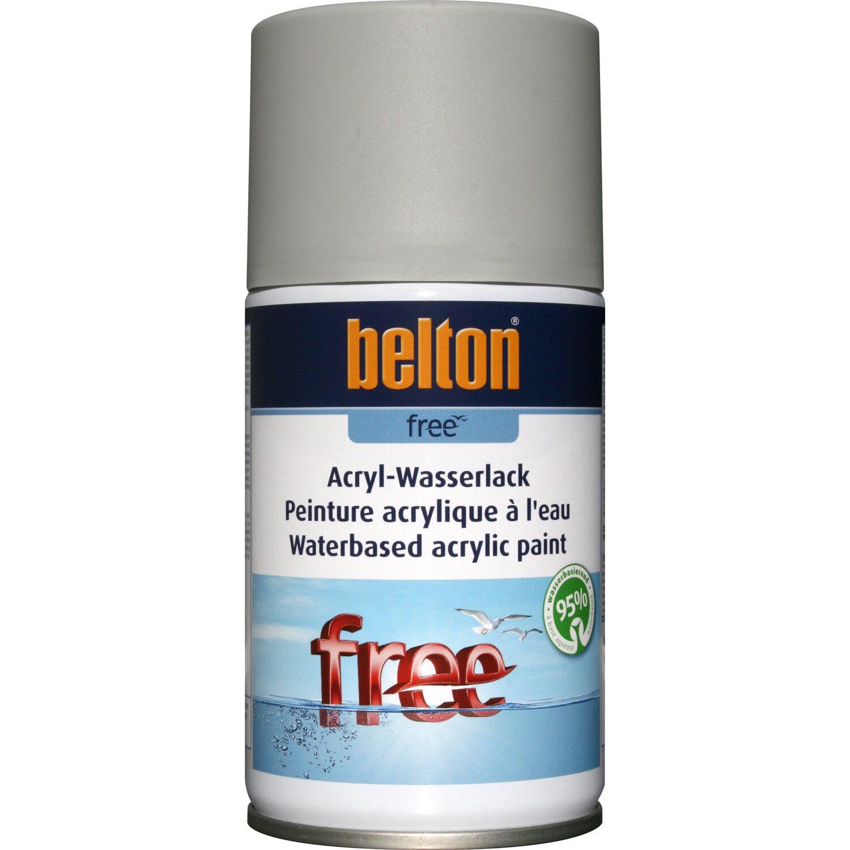 belton Belton Free Acryl-Wasserlack Lichtgrau matt 250 ml