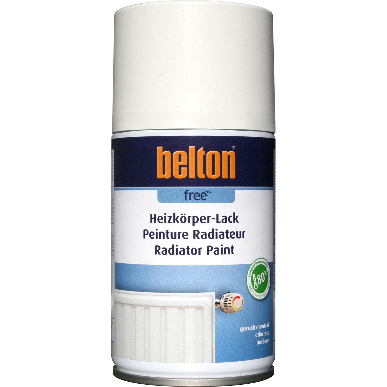 belton Belton Free Heizkörper-Lack Verkehrsweiß seidenglänzend 250 ml