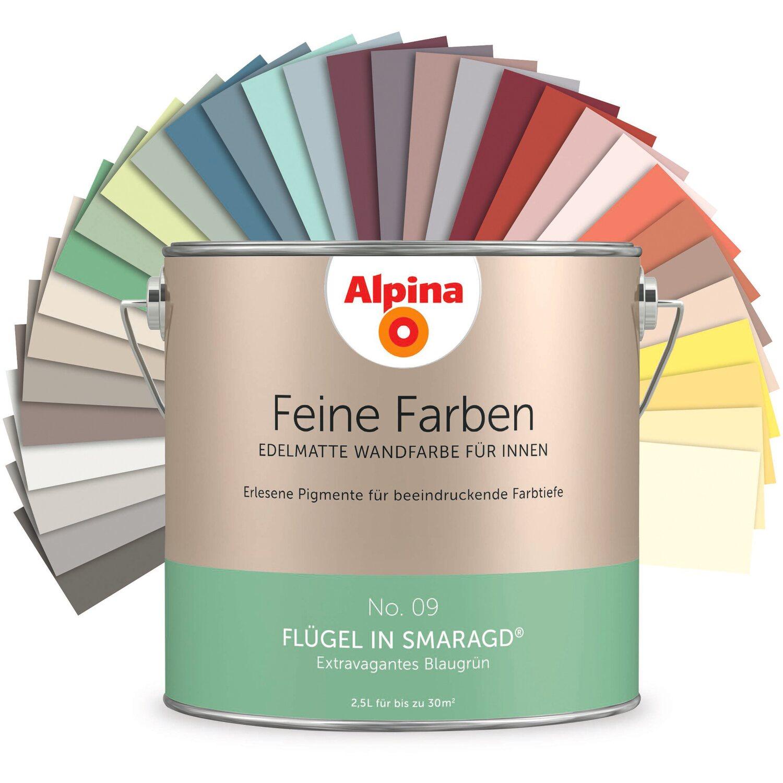Alpina Feine Farben No 1 Zeitloses Grau Edelmatt 25 L Kaufen Bei Obi