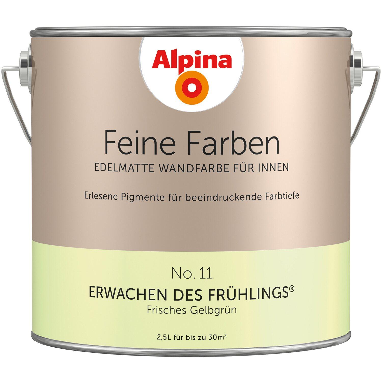 Alpina Feine Farben No 11 Erwachen Des Fruhlings Edelmatt 2 5 Liter Kaufen Bei Obi