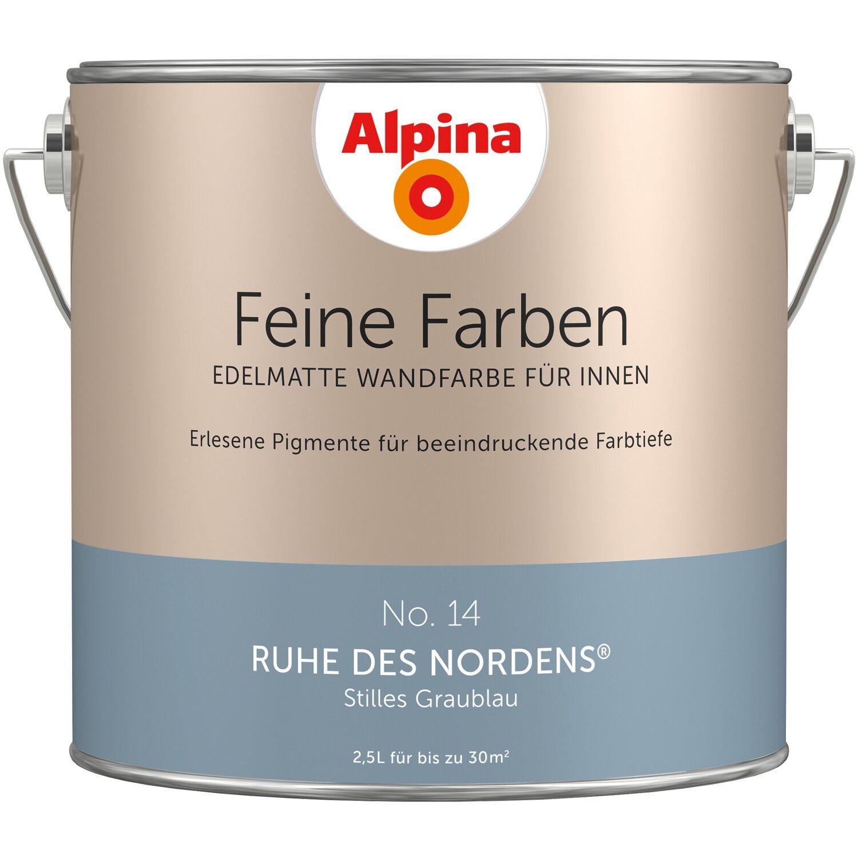 Alpina Wand Und Deckenfarbe Feine Farben Ruhe Des Nordens Edelmatt