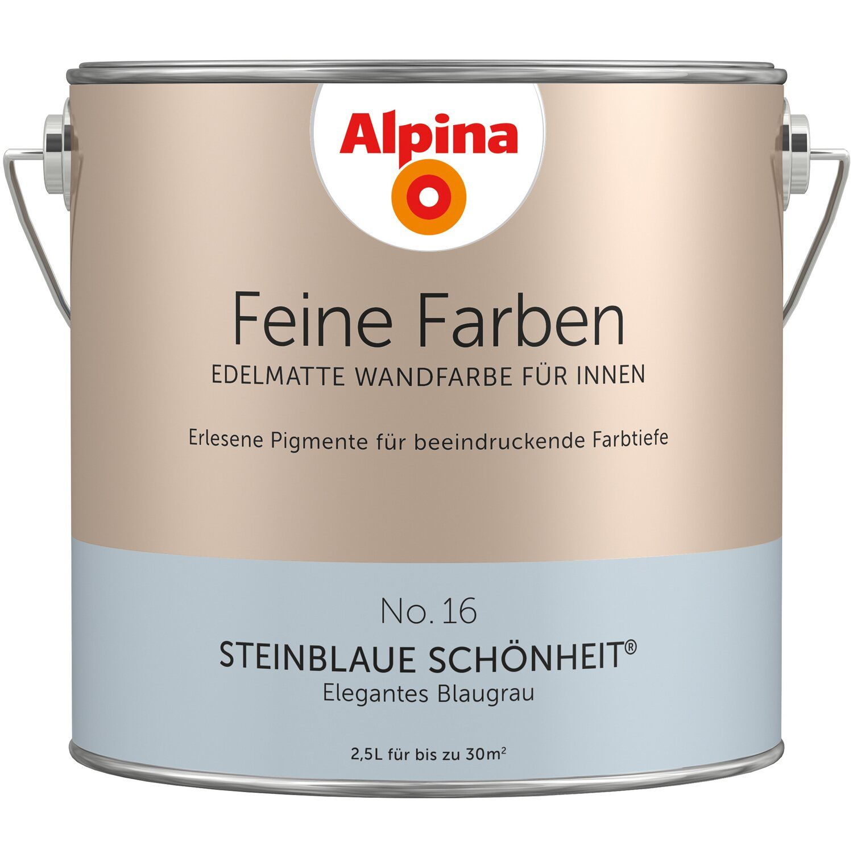 Alpina Feine Farben No 16 Elegantes Blaugrau Edelmatt 25 L Kaufen
