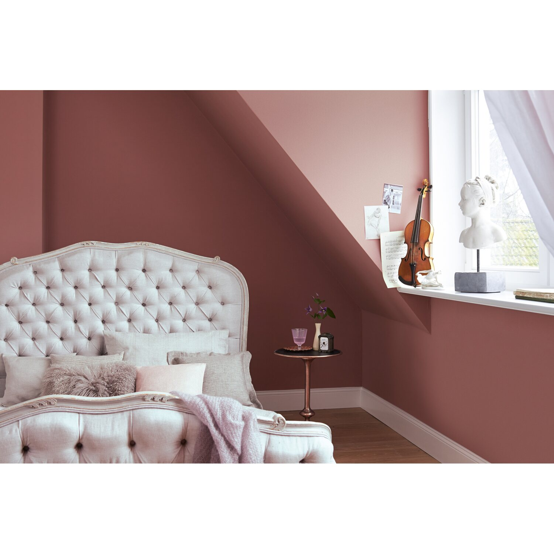 Azurblau Wandfarbe: Alpina Feine Farben No. 19 Dezentes Roseviolett Edelmatt 2