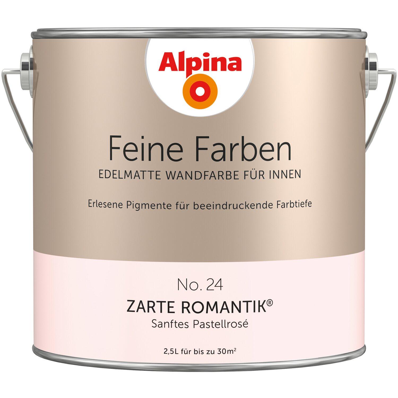 Alpina Feine Farben No 24 Zarte Romantik Edelmatt 2 5 Liter Kaufen Bei Obi