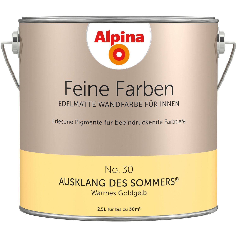 Wandfarbe Helles Blaugrau: Alpina Feine Farben No. 30 Ausklang Des Sommers Edelmatt 2