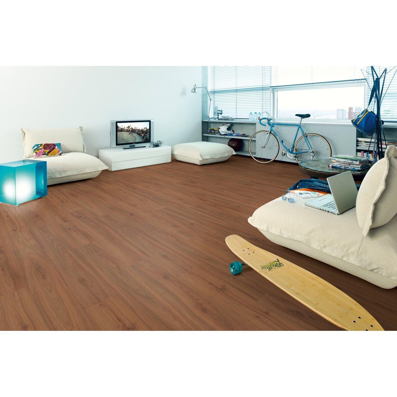 Megafloor laminatboden adria nussbaum kaufen bei obi for Mega floor