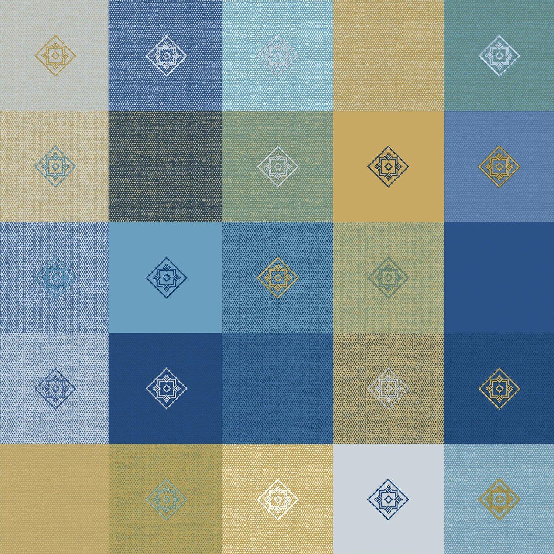 d c fix tischdecke victor blau 110 cm x 140 cm eckig kaufen bei obi. Black Bedroom Furniture Sets. Home Design Ideas