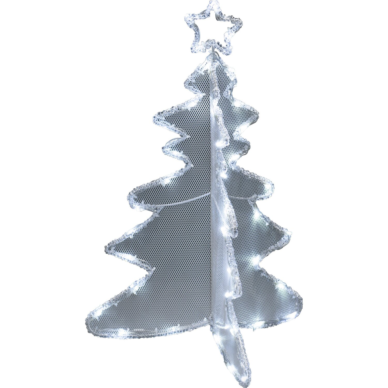 Tannenbaum Acryl.Konstsmide Led Acryl Tannenbaum 3d 40 Kaltweiße Dioden