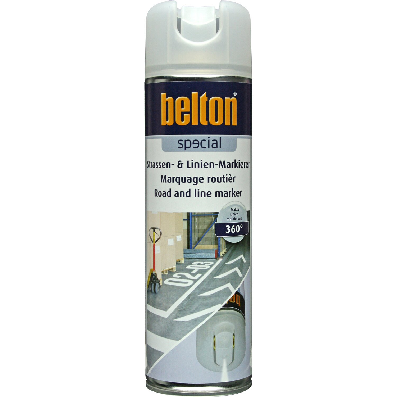belton Belton Basic Strassen- & Linien-Markierer Weiß seidenmatt 500 ml