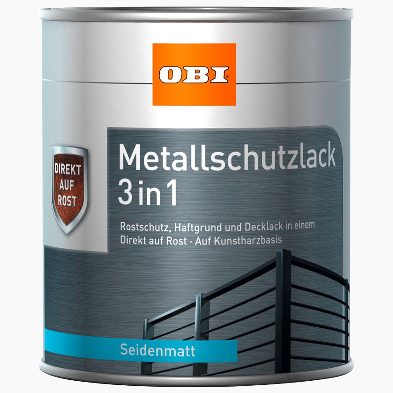 obi metallschutzlack 3in1 braun seidenmatt 375 ml kaufen bei obi
