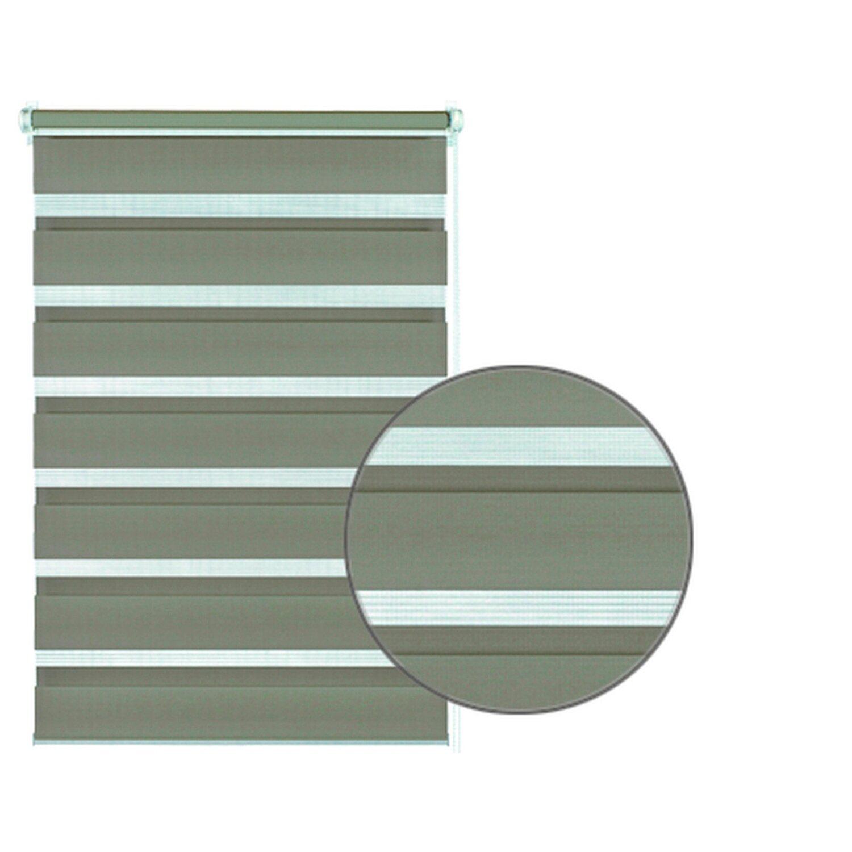 gardinia easyfix doppelrollo 100 cm x 150 cm mocca kaufen bei obi. Black Bedroom Furniture Sets. Home Design Ideas