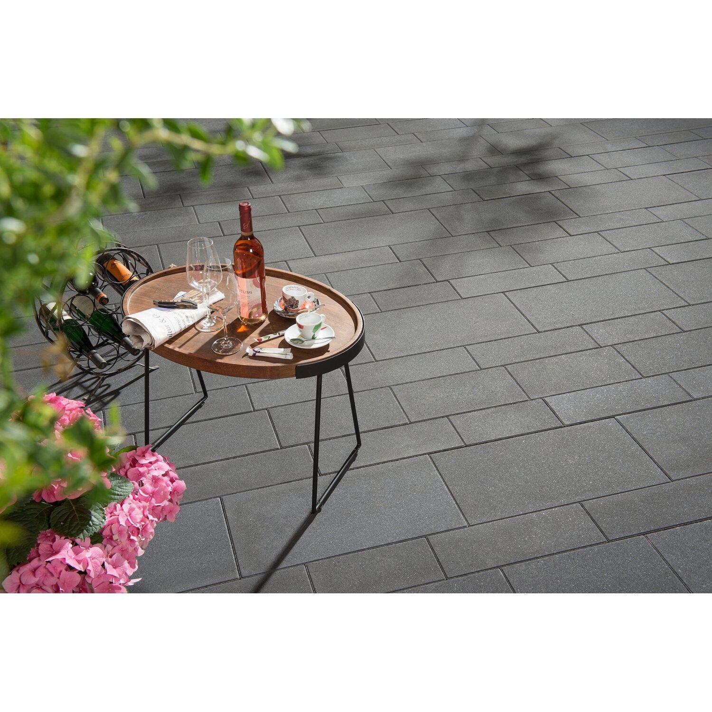 Terrassenplatte Parchetto Lineo Mehrformat Graphit Kaufen Bei Obi