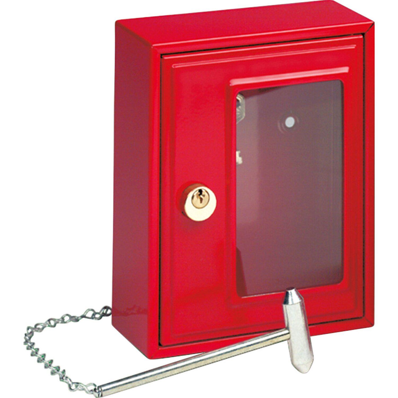 Burg Wächter Notschlüsselbox 6161 mit Hammer | Baumarkt > Werkzeug > Hammer | Burg Wächter