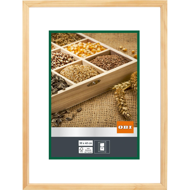 OBI Holz-Bilderrahmen Natur 30 cm x 40 cm kaufen bei OBI