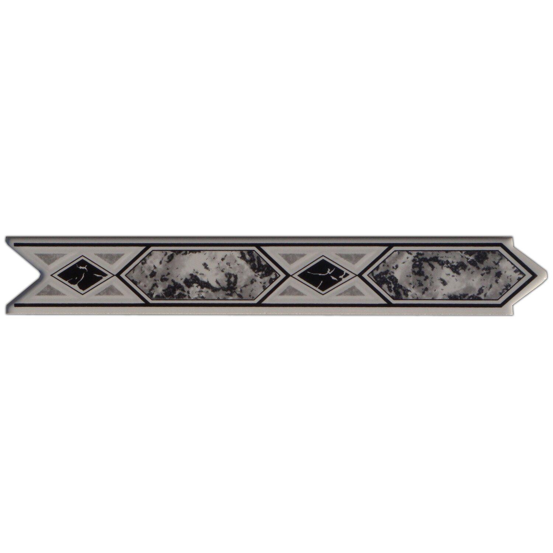 Sonstige Bordüre Olympic Schwarz 3 cm x 20 cm