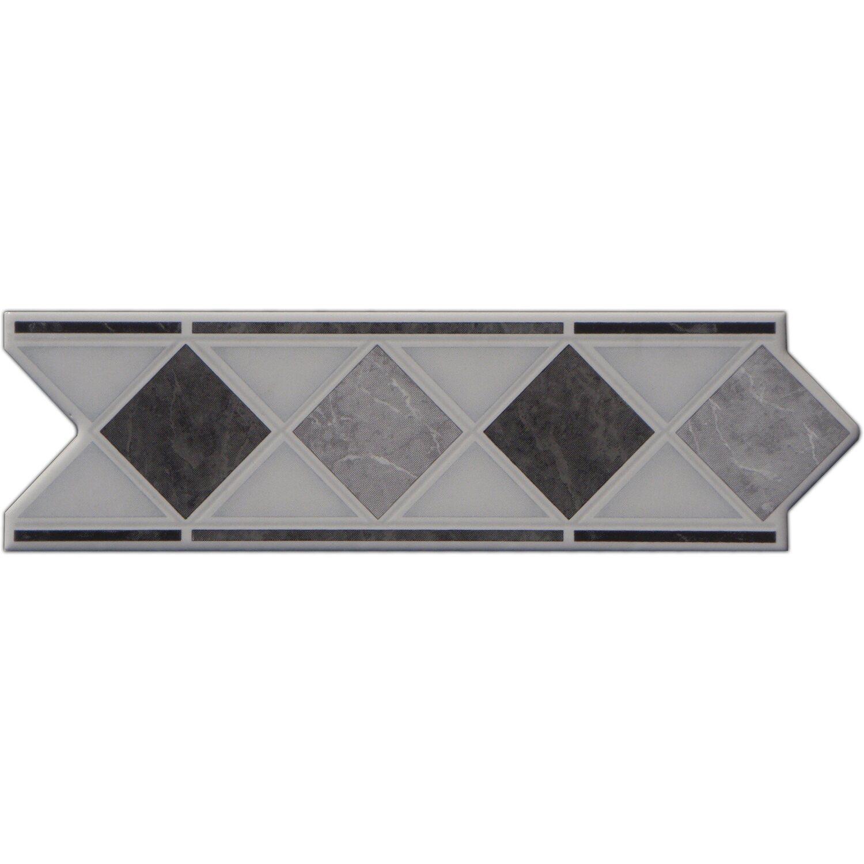 Sonstige Bordüre Marmol Schwarz 6 cm x 20 cm
