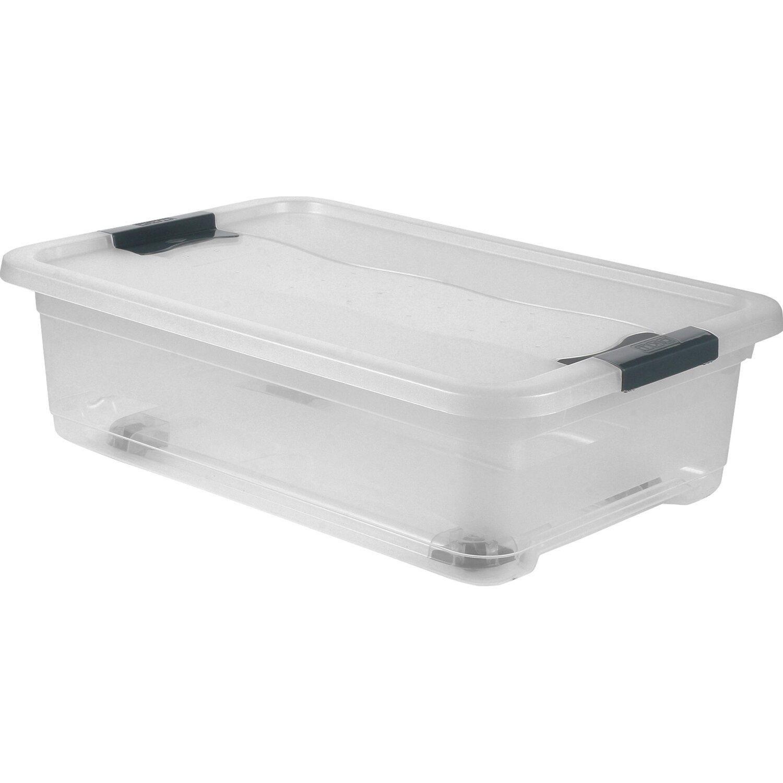 plastikbox mit rollen xa14 kyushucon. Black Bedroom Furniture Sets. Home Design Ideas