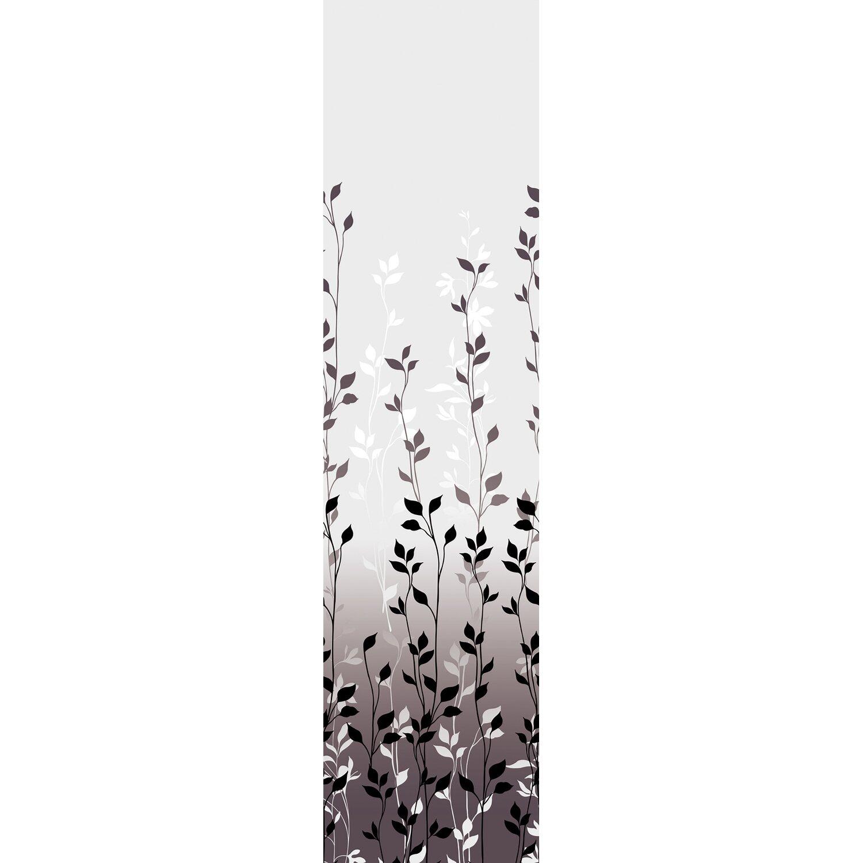 Bennetti  Schiebevorhang Voile Grau 60 cm x 245 cm
