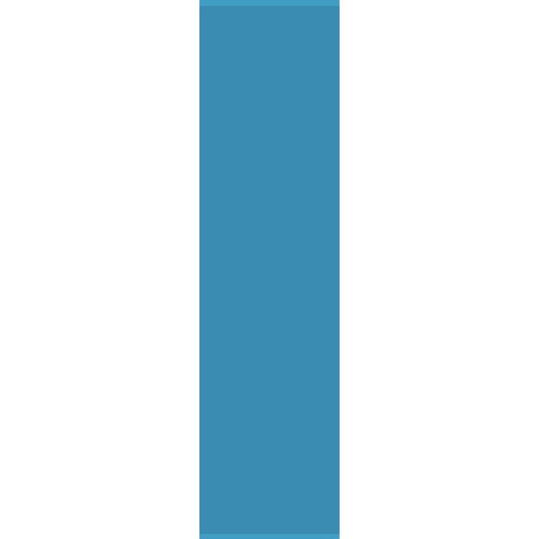 Bennetti  Schiebevorhang Voile Blau 60 cm x 245 cm
