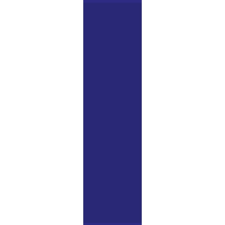 Bennetti  Schiebevorhang Voile Dunkelblau 60 cm x 245 cm