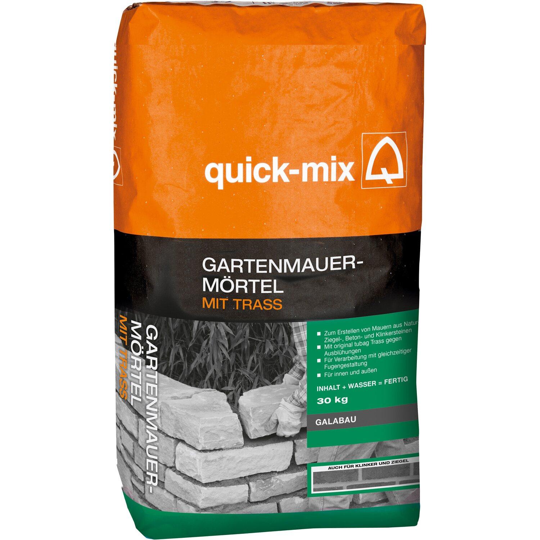 Gartenmauermörtel Mit Trass 30 Kg