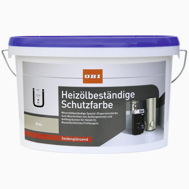 Bevorzugt OBI Heizölbeständige Schutzfarbe Grau seidenglänzend 2,5 l kaufen TI71