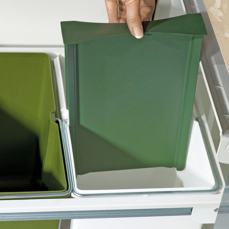 obi einbau m lleimer 2 x 15 l kaufen bei obi. Black Bedroom Furniture Sets. Home Design Ideas