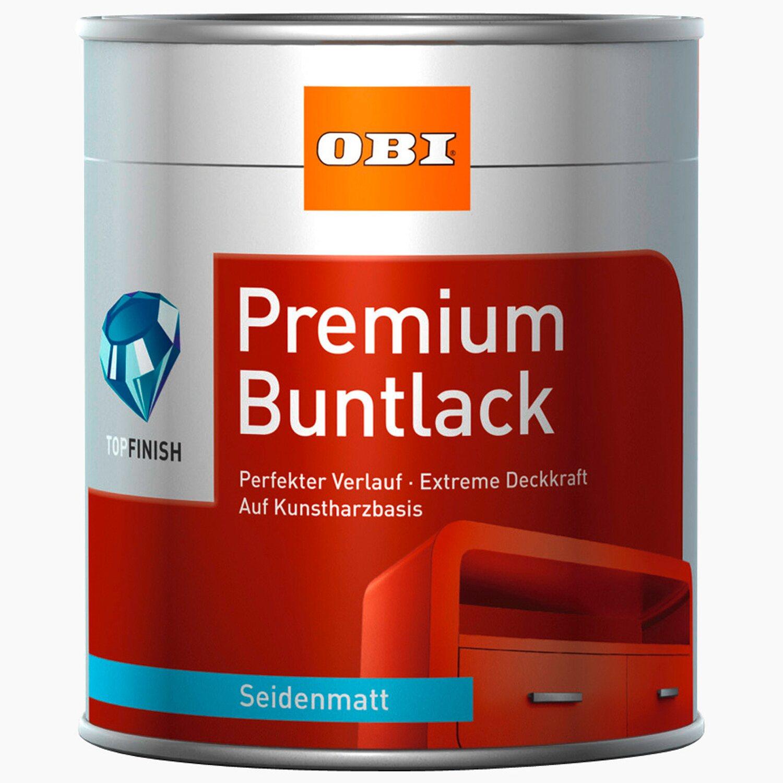 Zimmertüren anthrazit obi  OBI Premium Buntlack Anthrazit seidenmatt 375 ml kaufen bei OBI