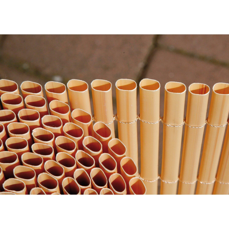 Balkonverkleidung Comfort Bambus Optik 180 Cm X 300 Cm Kaufen Bei Obi