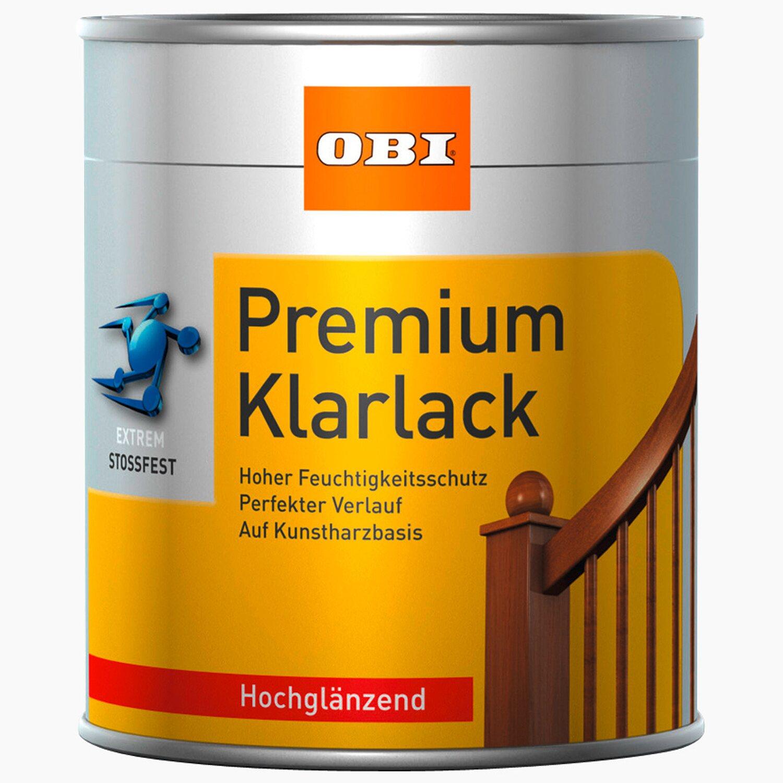 obi premium klarlack transparent hochglänzend 375 ml kaufen bei obi