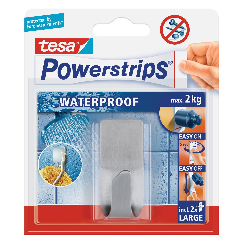 Tesa Waterproof Haken Edelstahl Mit 2 X Powerstrips Large Kaufen Bei Obi