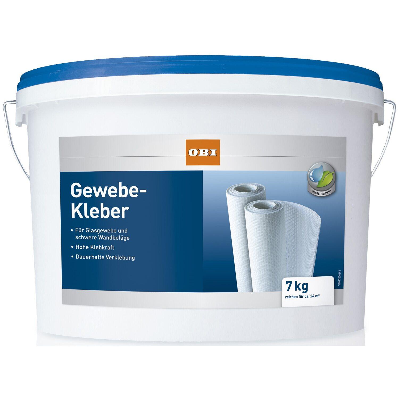 OBI Gewebe-Kleber Transparent 7 kg