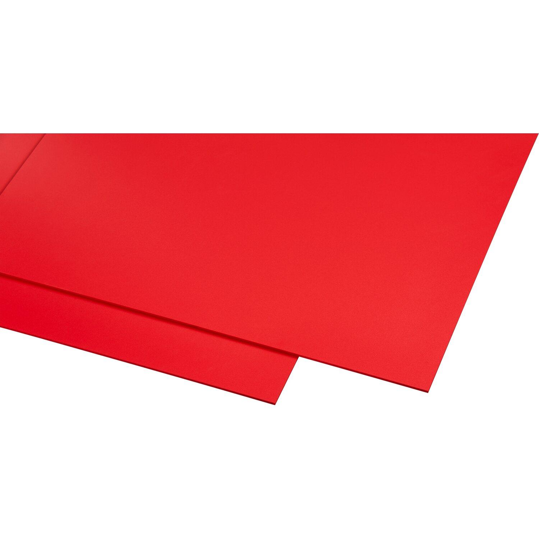 19,90 € // m² Bastelplatten PVC weiß 50 x 50 cm 3 mm