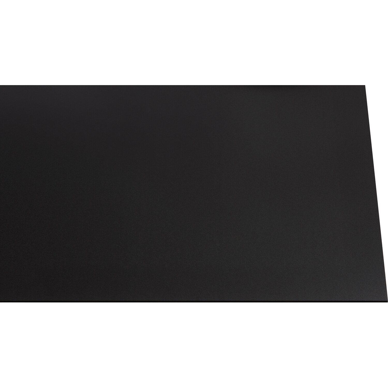"""kunststoffplatte """"guttagliss hobbycolor"""" schwarz 50 cm x 25 cm"""