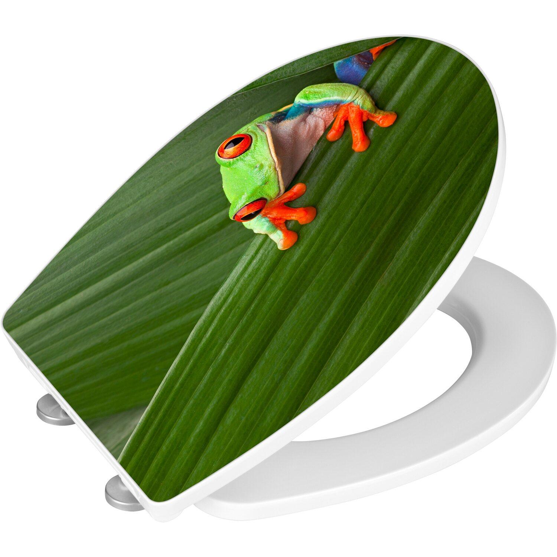 wenko wc sitz hochglanz acryl absenkautomatik frog kaufen bei obi. Black Bedroom Furniture Sets. Home Design Ideas