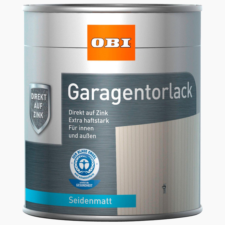 OBI Garagentorlack Weiß seidenmatt 750 ml | Baumarkt > Garagen und Carports > Garagentore | OBI