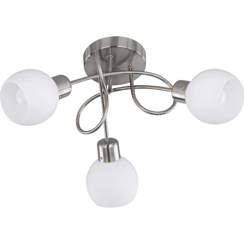 Trio LED-Deckenlleuchte Nickel matt EEK: A+ | Lampen > Deckenleuchten > Deckenlampen | Matt | Metall | Trio