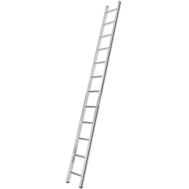 Hymer  Anlege-Leiter 12 Sprossen Arbeitshöhe 3,82 m